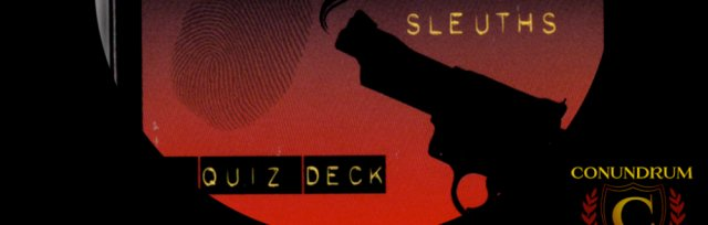 Play @ Our House! This Week: Hard-Boiled Authors & Sleuths
