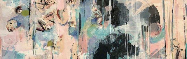 Mixed Media Abstract via ZOOM