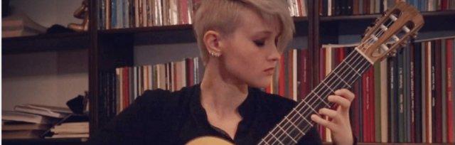 Stephanie Jones Classical Guitarist Concert