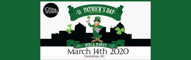 Otis & Wawa's South Elm Street St. Patrick's Day Bar Crawl - Downtown Greensboro