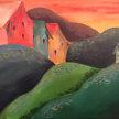 Paint & Sip! Tuscan Villa at 7pm $35 image