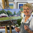 Introduction to Acrylics with Diana Aungier-Rose - £68 image