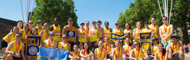 Team UC Runs the Vitality 10,000