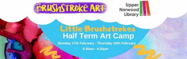 Little Brushstrokes: February Art Camp