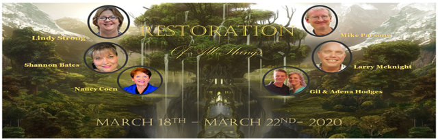 Restoration of All Things Colorado Springs Conference