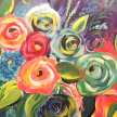 Paint & sip! Floral Garden at  3pm $35 image