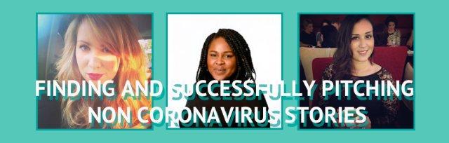 JR Masterclass: Finding and Pitching Non Coronavirus Stories