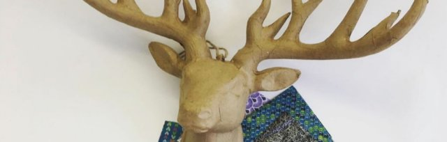DECOUPAGE DEER WORKSHOP