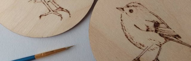 Pyrography Coaster Workshop