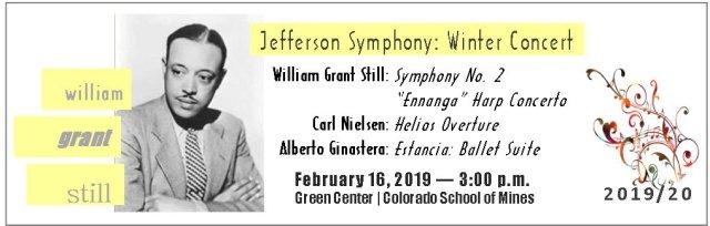 Winter Concert: Music of William Grant Still