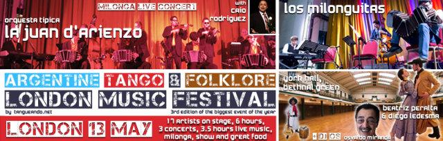 Argentine Tango & Folklore London Music Festival