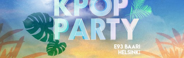 Helsinki: K-pop & K-hiphop Party x KEvents