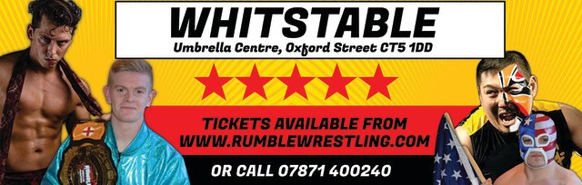 Rumble Wrestling in Whitstable