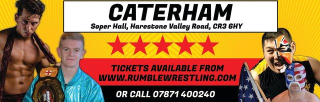 Rumble Wrestling comes to Caterham