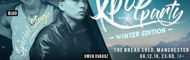 Manchester - K-pop & K-hiphop Party x K-Events x Bloo x  Owen Ovadoz Mkit Rain