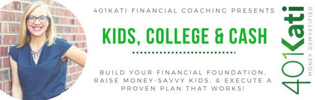 Pocket Change Workshop: Kids, College, and Cash