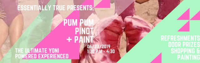 Pum Pum, Pinot, & Painting: Girls Nite Out