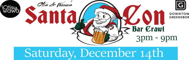 Otis & Wawa's 4th Annual SantaCon Bar Crawl