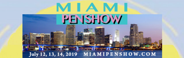 Miami Pen Show 2019 - Tickets - July 12, 13, 14, 2019