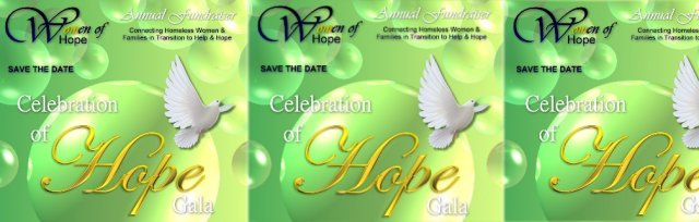 "Sponsorship for Women of Hope ""Celebration of Hope"" - Annual Fundraising Event"