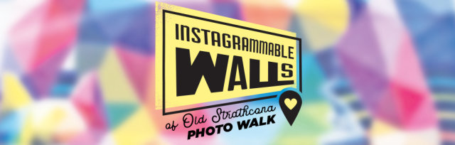 Instagrammable Walls of Old Strathcona / Whyte Ave Photo Walk (Weekday Evening)