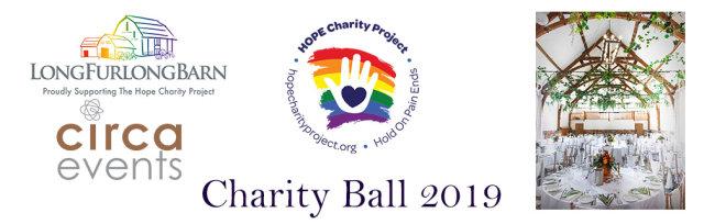 The Annual Hope Charity Project Ball at Long Furlong Barn