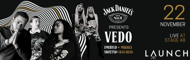 Vedo, Makaila, SweetXO, Emeryld Live at Stage 48