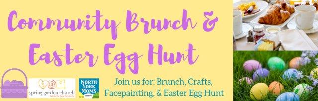 Community Easter Brunch & Egg Hunt