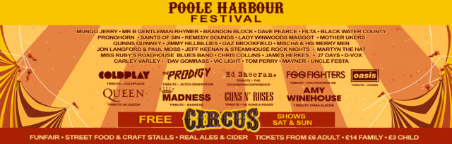 Poole Harbour Festival 2019 The year Of The Circus