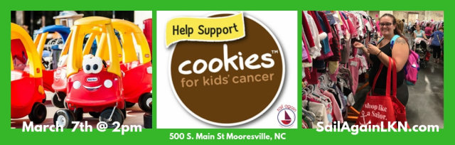 Sail Again's Cookies for Kids Cancer Presale