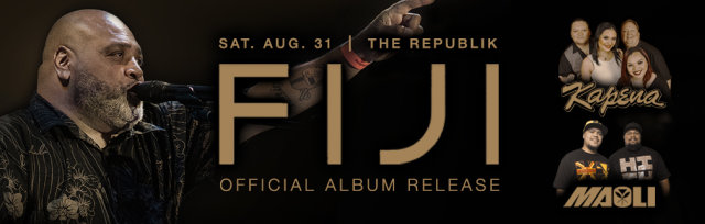 """FIJI """"Love & Roots"""" CD Release Party"""
