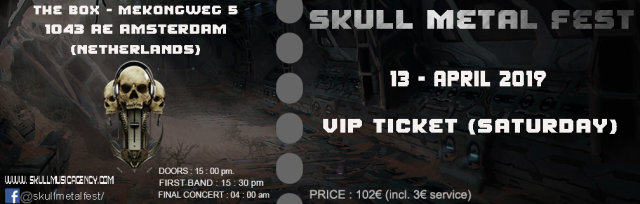 VIP TICKET (SATURDAY)