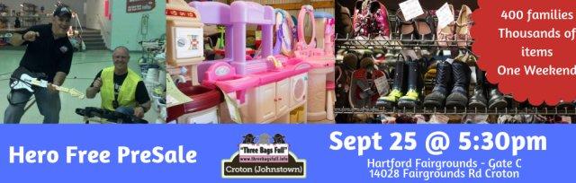 HERO Free PreSale for  Croton Pop Up Shop