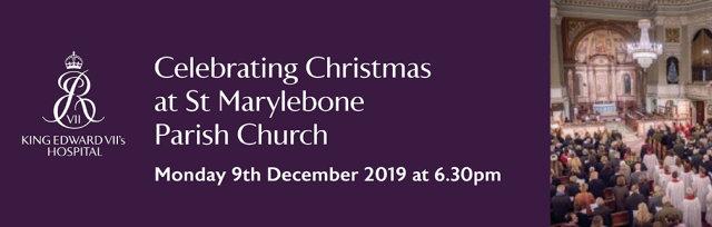 Celebrating Christmas at St Marylebone Parish Church