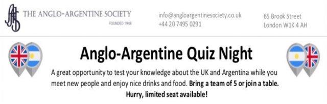 Anglo-Argentine Quiz Night