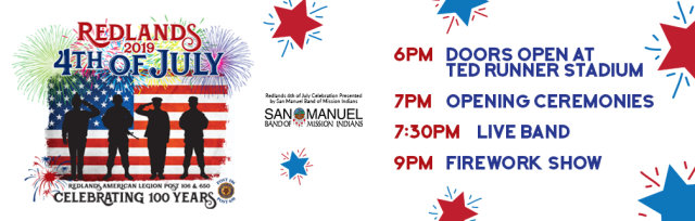Redlands 4th of July Fireworks Celebration