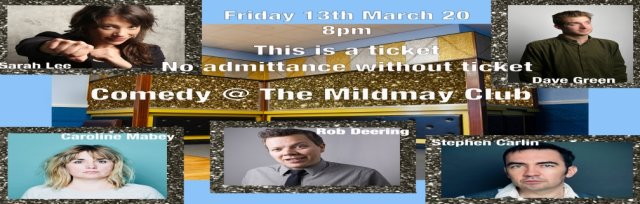 Comedy night at the Mildmay club
