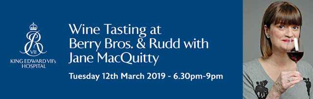 Wine Tasting at Berry Bros. & Rudd with Jane MacQuitty