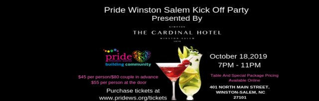 Pride Winston Salem Kick Off Party