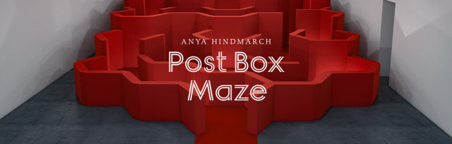 The Postbox Maze, Friday 13th 10am