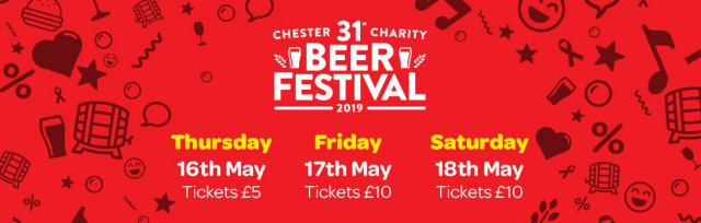 31st Chester Charity Beer Festival