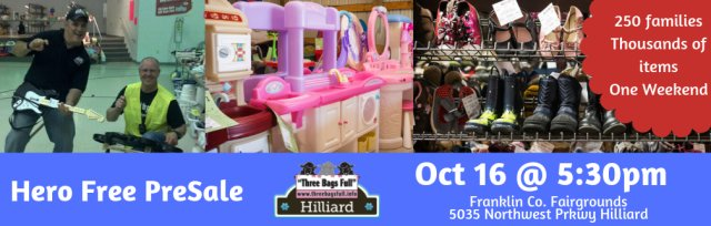 HERO Free PreSale for Hilliard Pop Up Shop