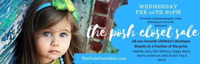 The Posh Closet Sale VIP Presale
