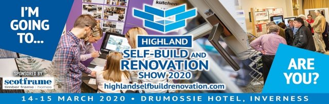 Highland Self-Build and Renovation 2020, sponsored by Scotframe