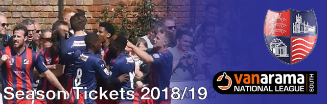 Season Tickets 2018/19 - Hampton & Richmond Borough FC