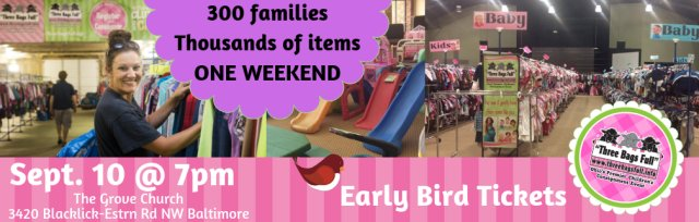 Pickerington Pop Up Shop: Charity Early Bird Admission