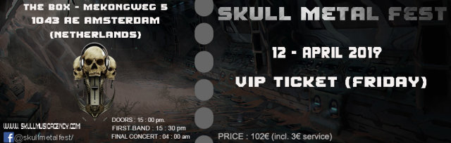 VIP TICKET (FRIDAY)