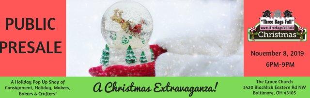 Christmas Pop Up Shop: Public PreSale