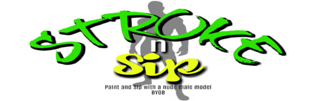 Stroke n Sip: Paint and Sip with Nude Male Model- JACKSONVILLE