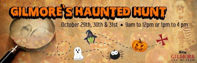 Gilmore's Haunted Hunt!